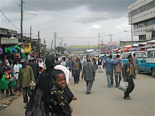 Mercato d'Addis