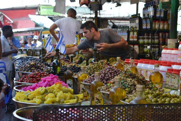 Mercato di Tel Aviv