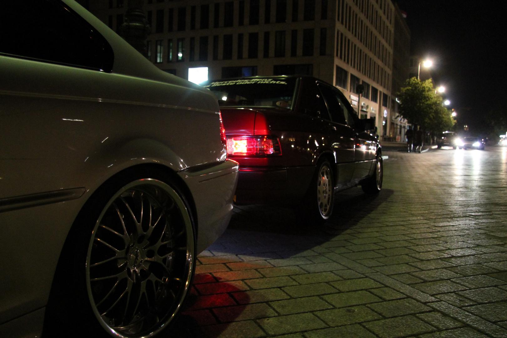 Mercedes 190E heck