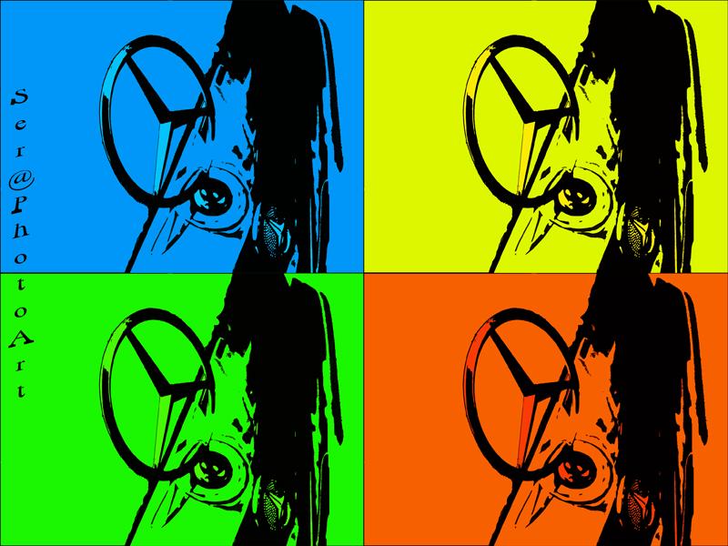 Mercedes Andy Warhol