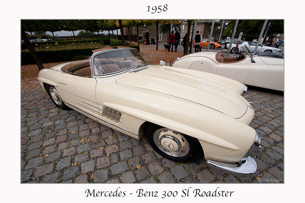 Mercedes - Benz 300 SL Roadster 1958