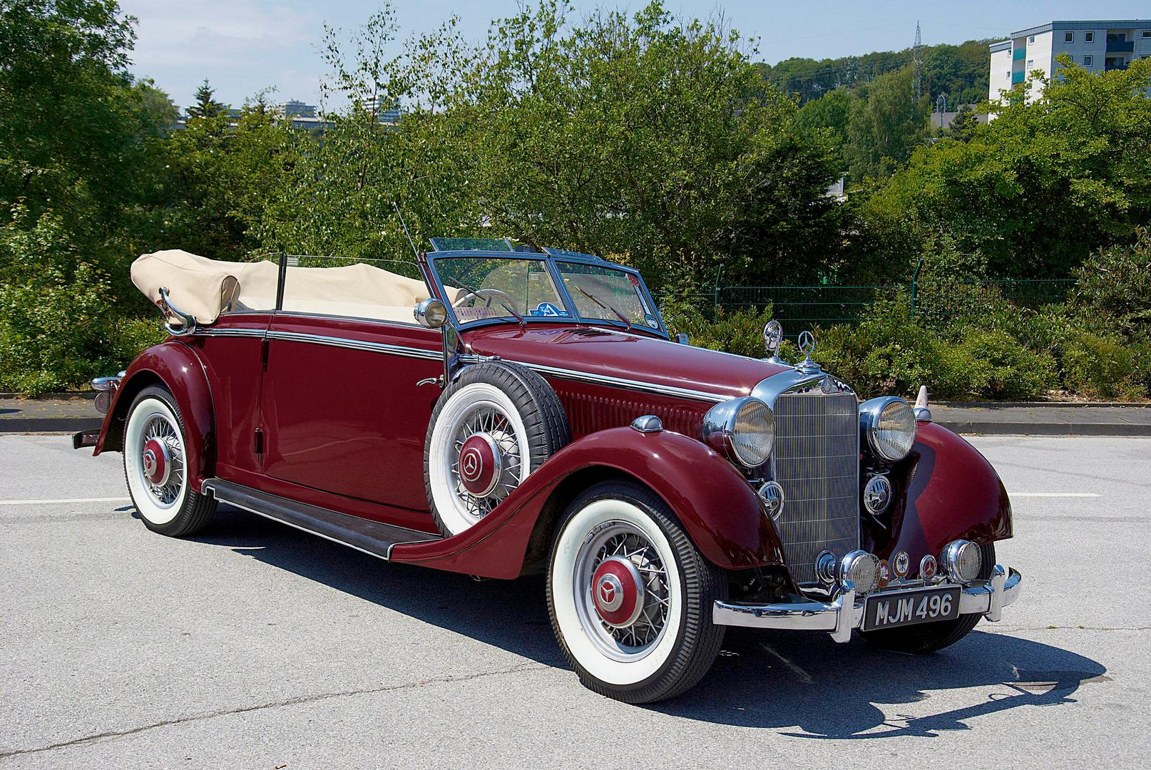 Mercedes Benz 320 Cabrio BJ 1934