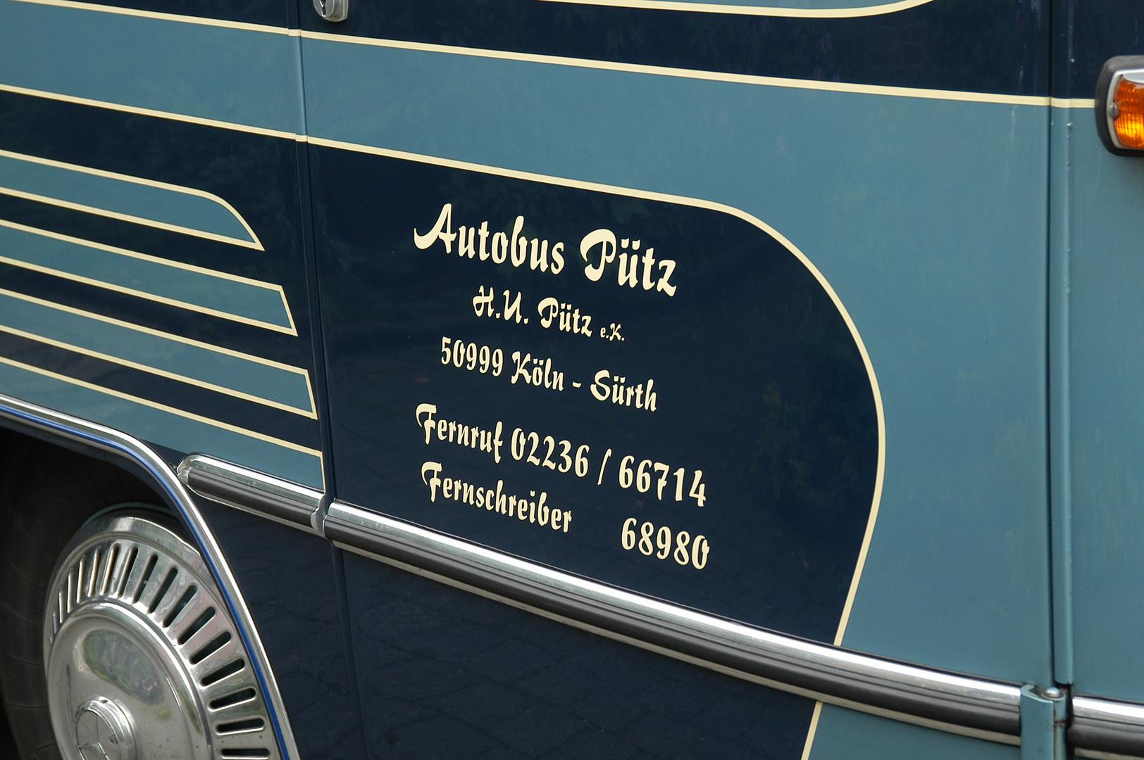Mercedes Benz Bus 1960..