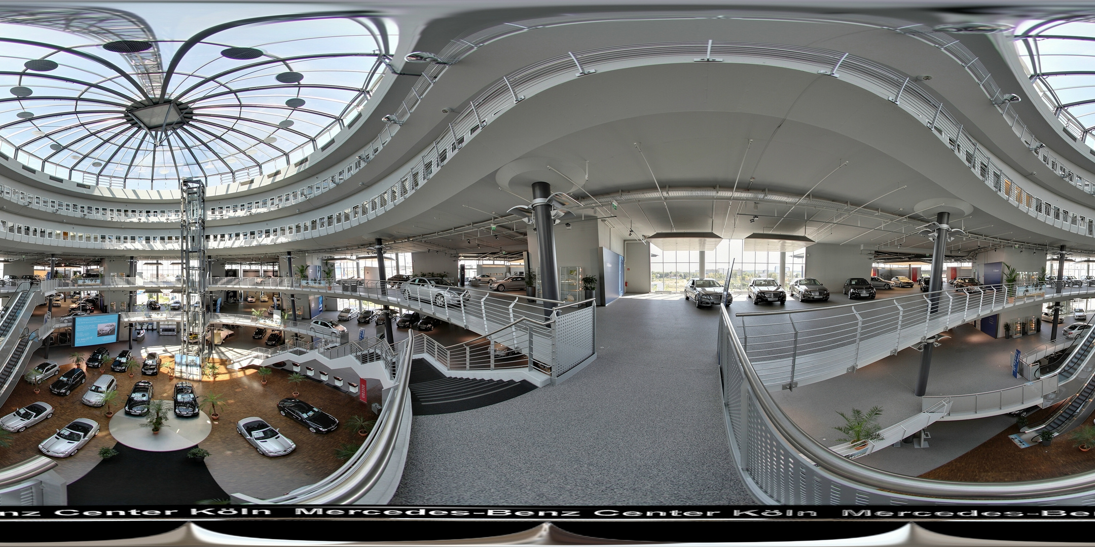Mercedes-Benz Center by Marko Ginster location360.de