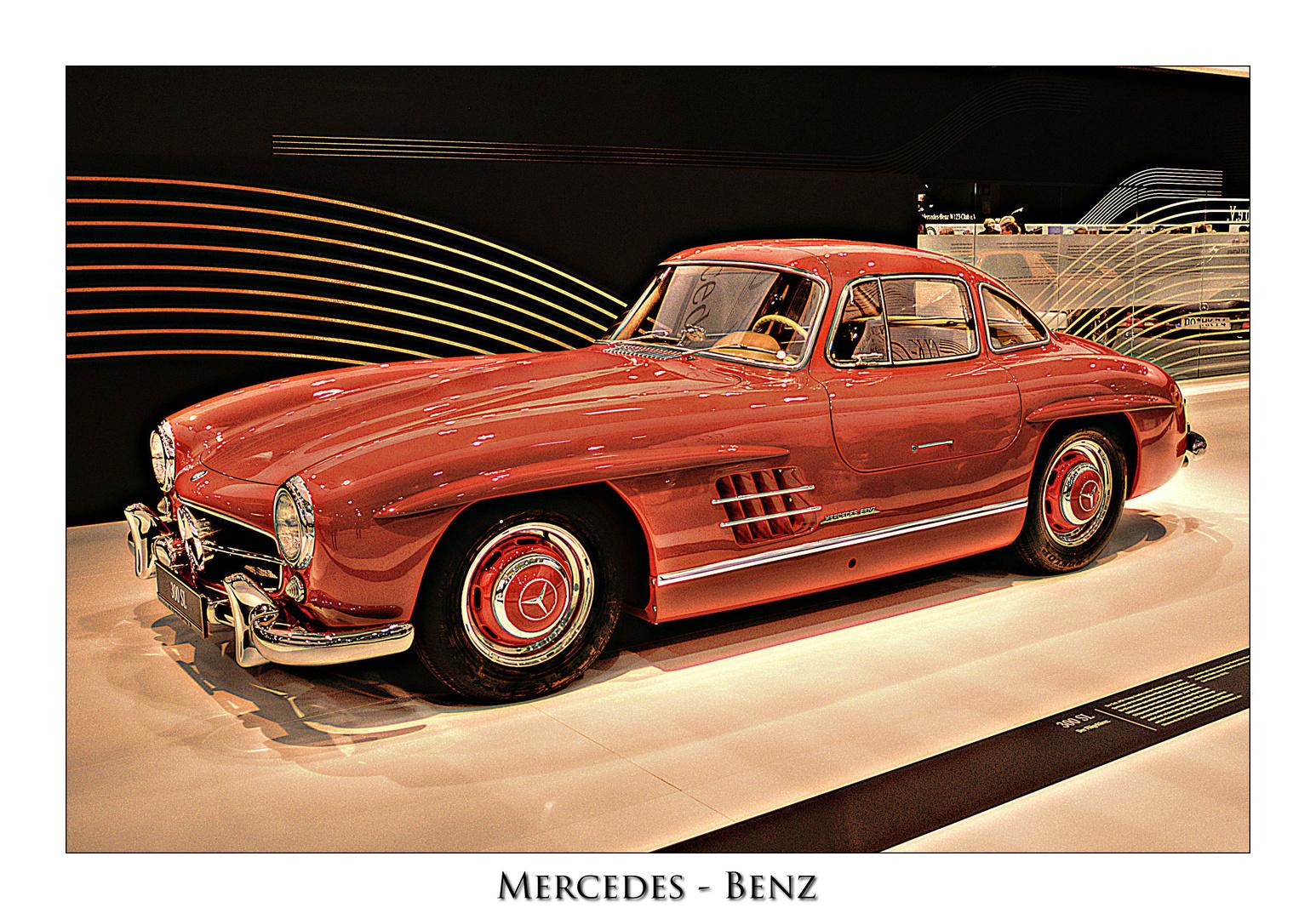 Mercedes - Benz Flügeltürer