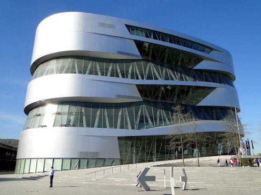 Mercedes-Benz-Museum in Stuttgart-Bad Cannstatt