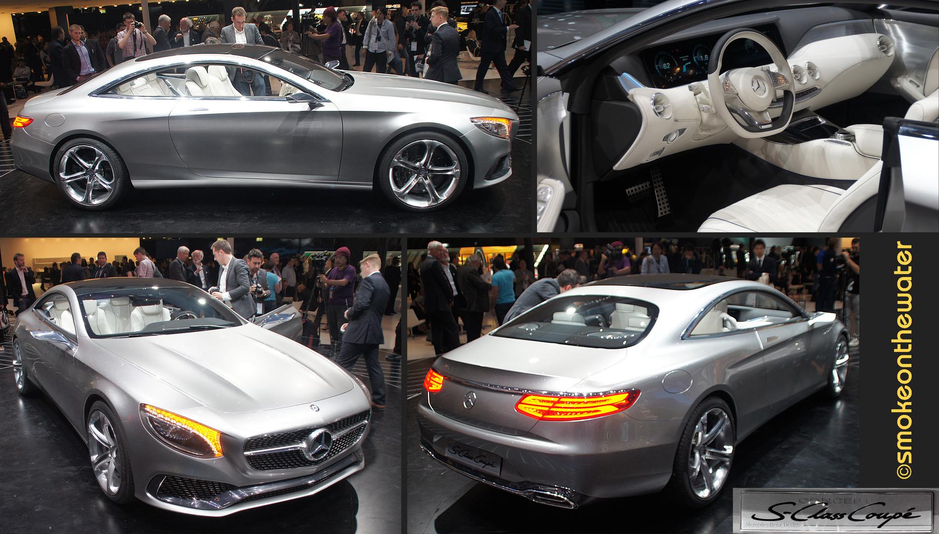 Mercedes-Benz S-Class Coupé Concept