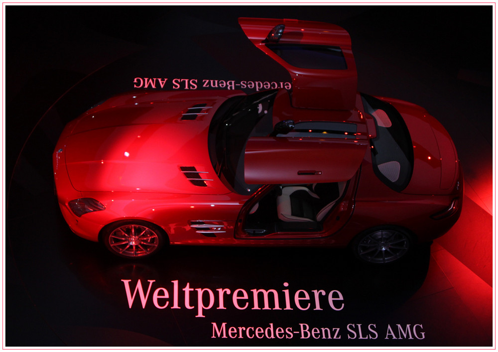 Mercedes-Benz SLS IAA