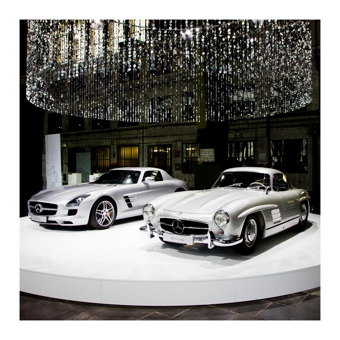 Mercedes Benz -- Treffen der Generationen