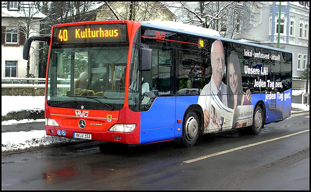 Mercedes - Citaro in Lüdenscheid