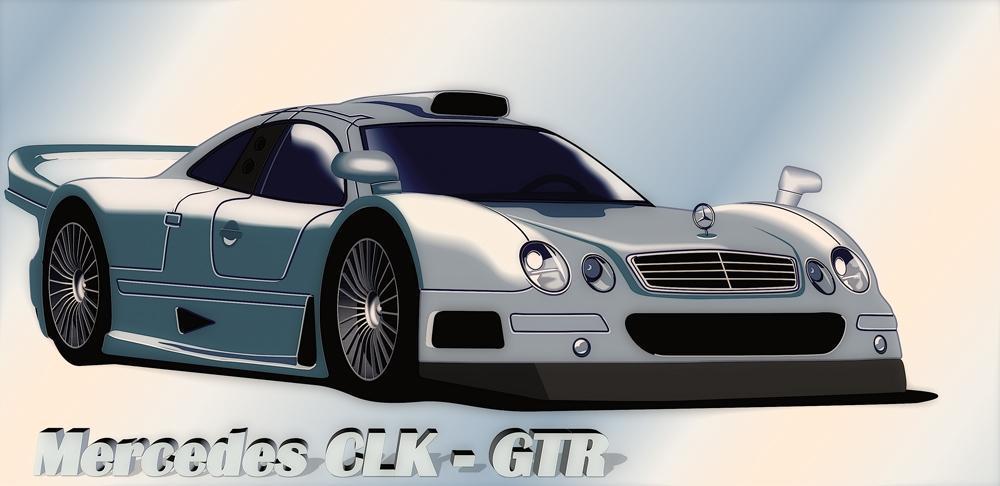 Mercedes CLK - GTR