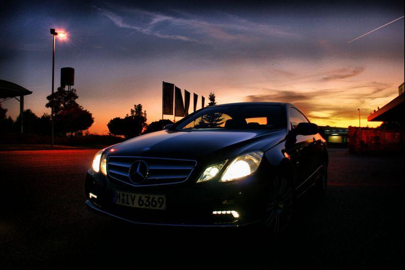 Mercedes E-Klasse Coupe'