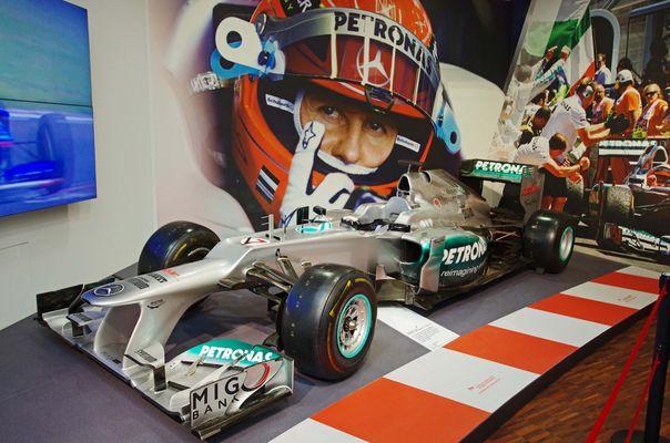 MERCEDES F1 WO3