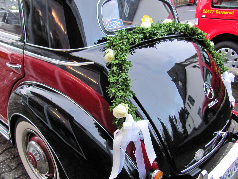Mercedes für die Hochzeit