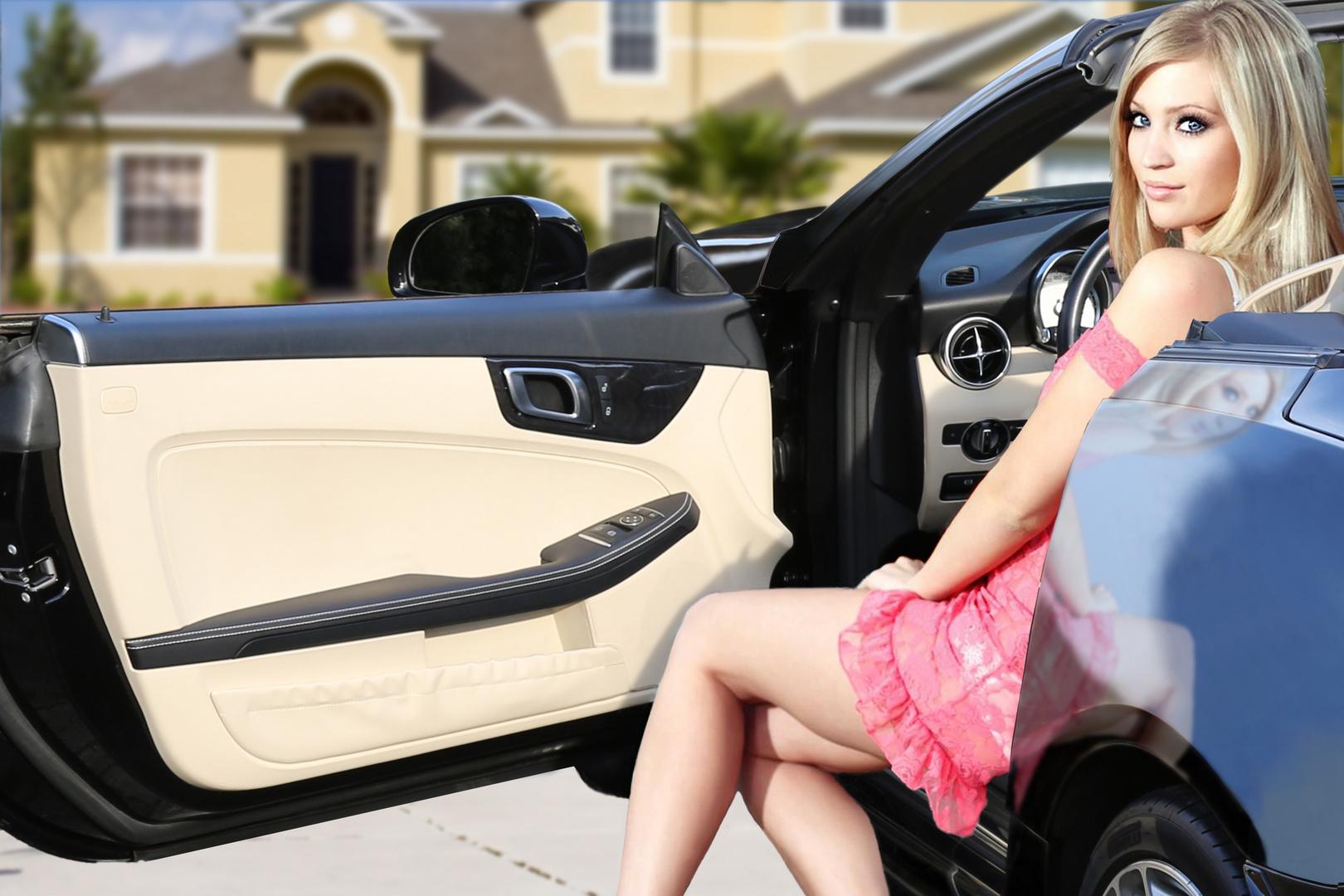 Mercedes Girl 3