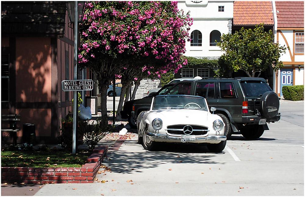 Mercedes in Solvang,CA.