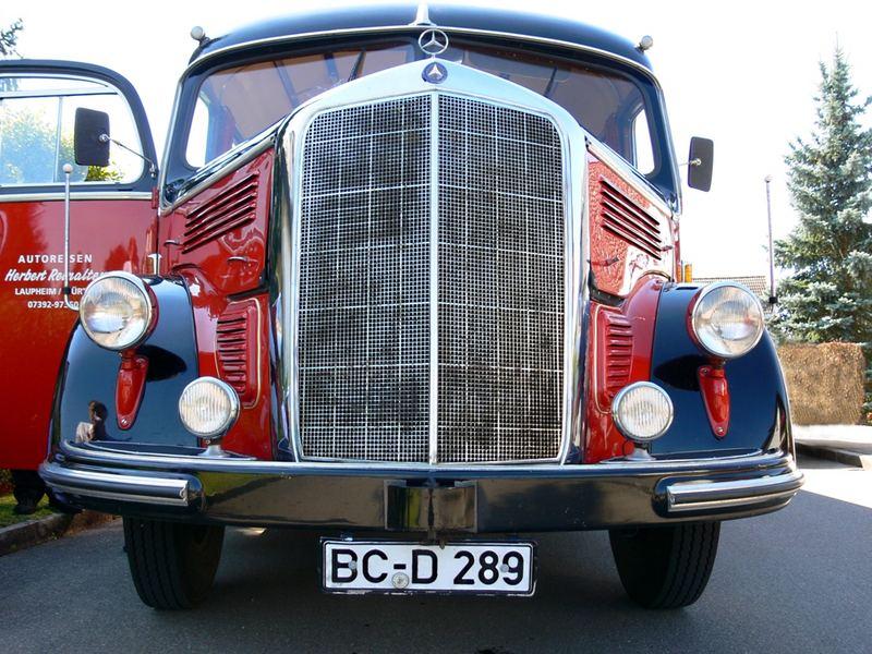 Mercedes O 3500                         -    Baujahr 1951