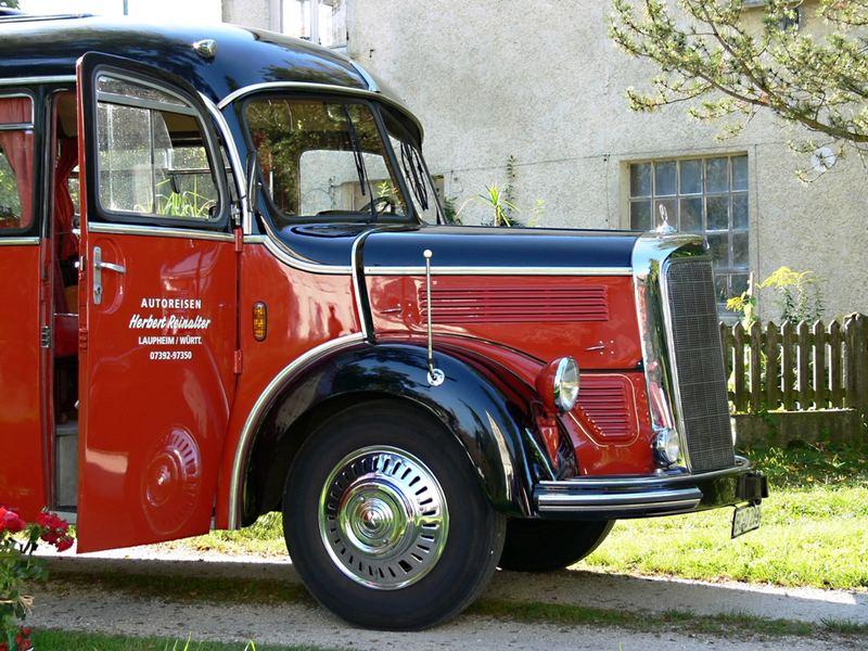 Mercedes O 3500 - Baujahr 1951 -II-