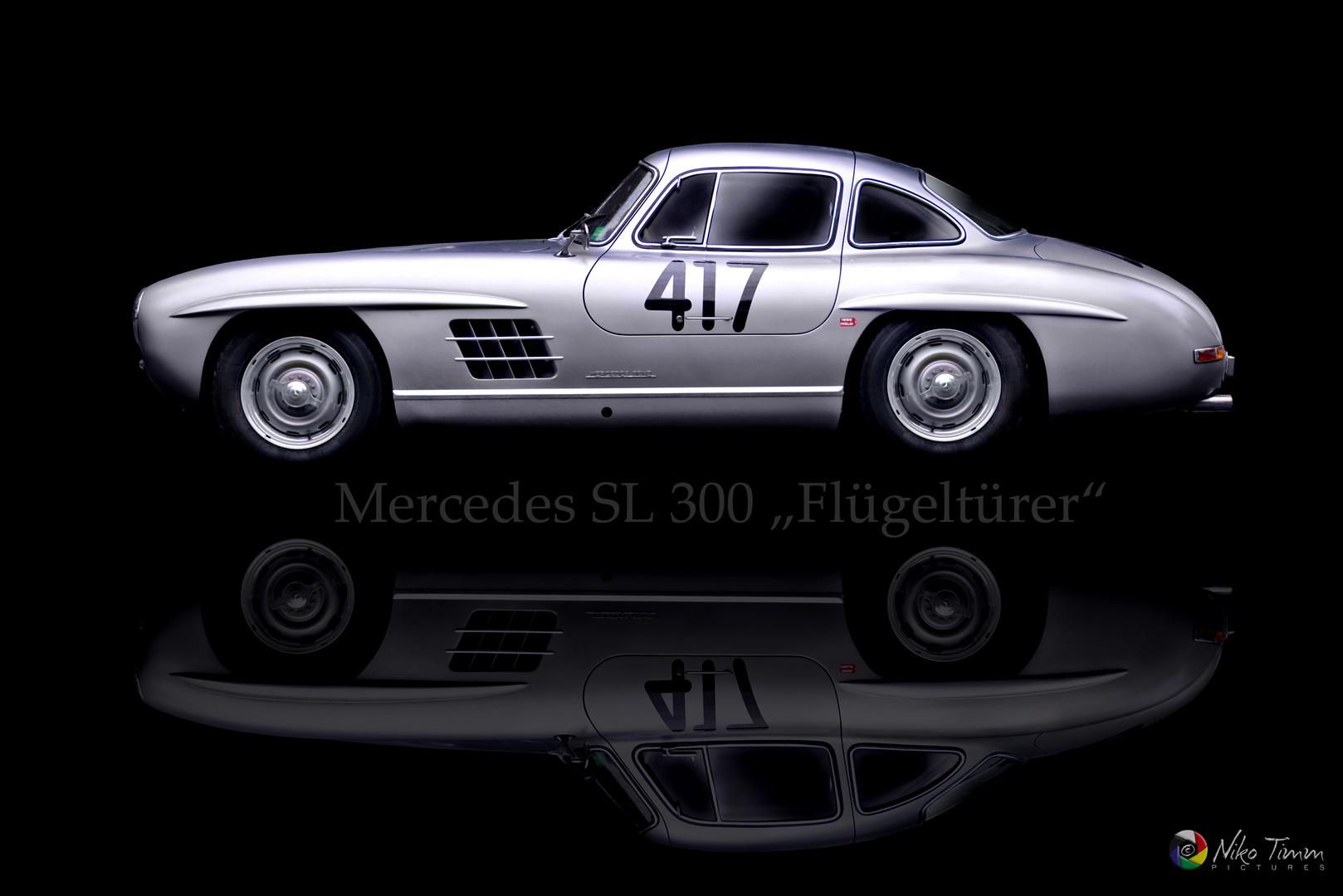 """Mercedes SL 300 """"Flügeltürer"""""""