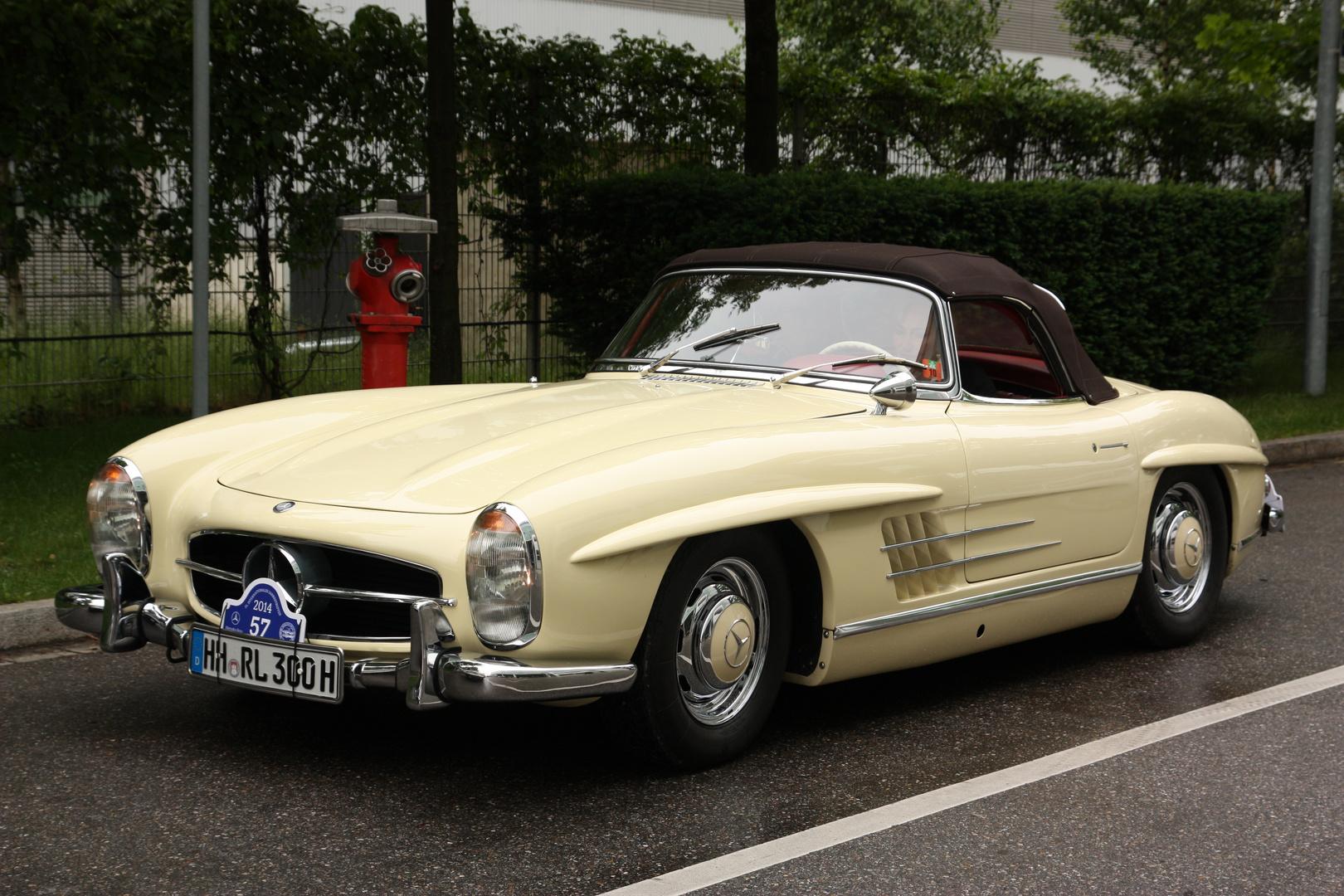 Mercedes SL Treffen am 30.05.14 in München