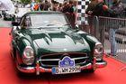 Mercedes SL Treffen am 30.05.14 in München/Arnulfstrasse