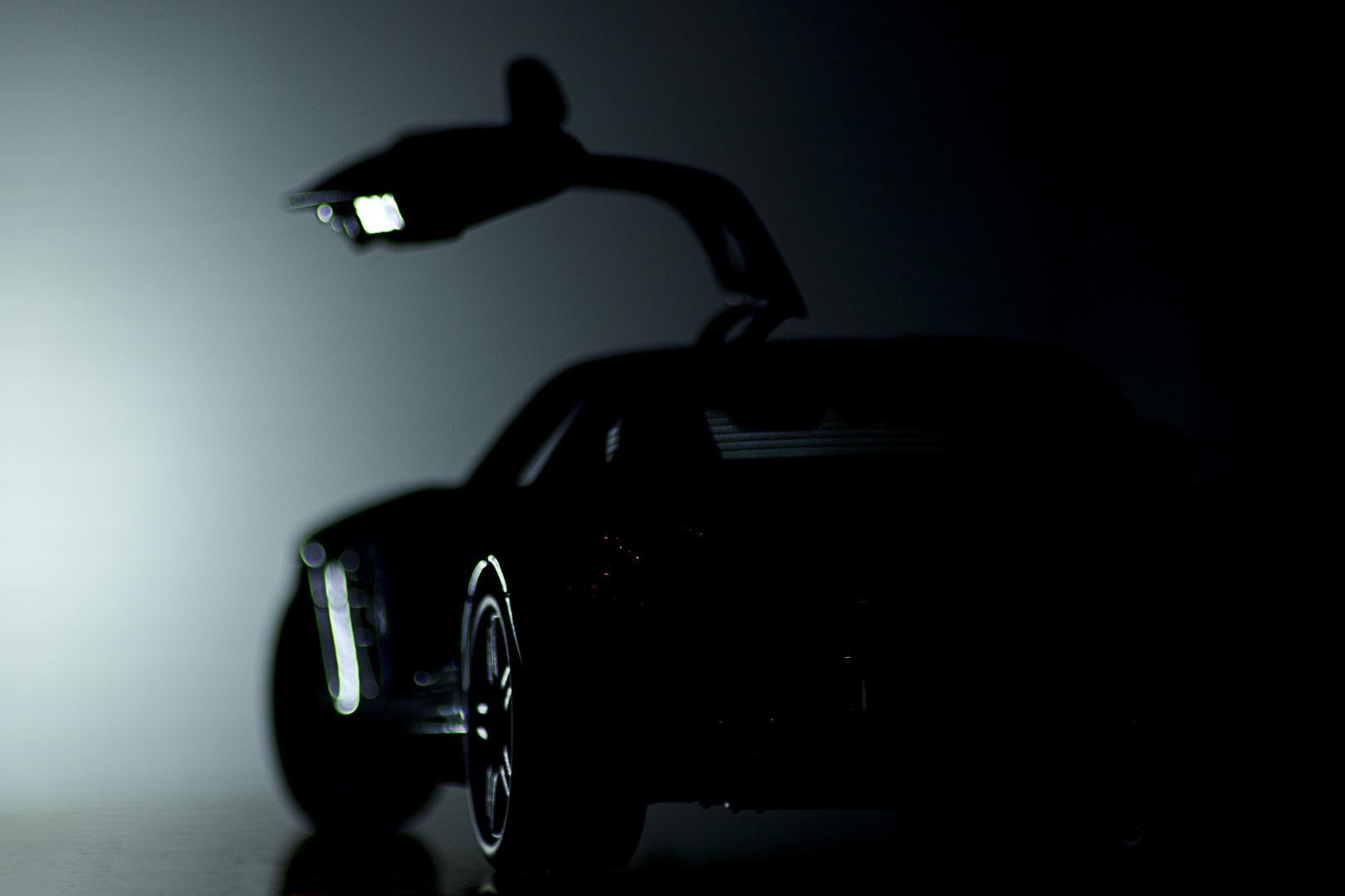 Mercedes SLS AMG Modellauto