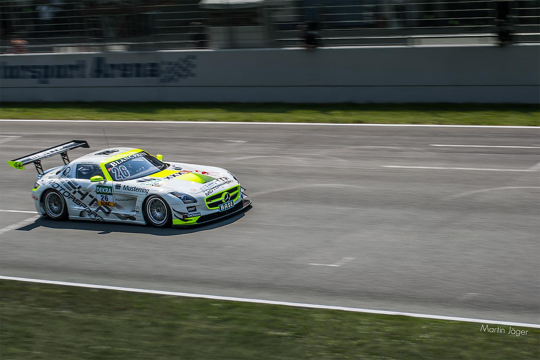 Mercedes SLS - GT Masters 2014 in Oschersleben