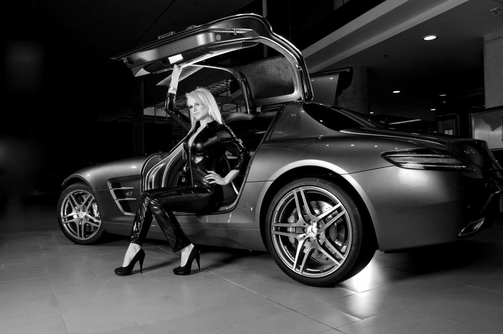 Mercedes SLS / Showroom Shooting