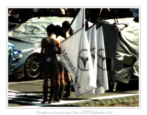 Mercedes von seiner schönsten Seite ...