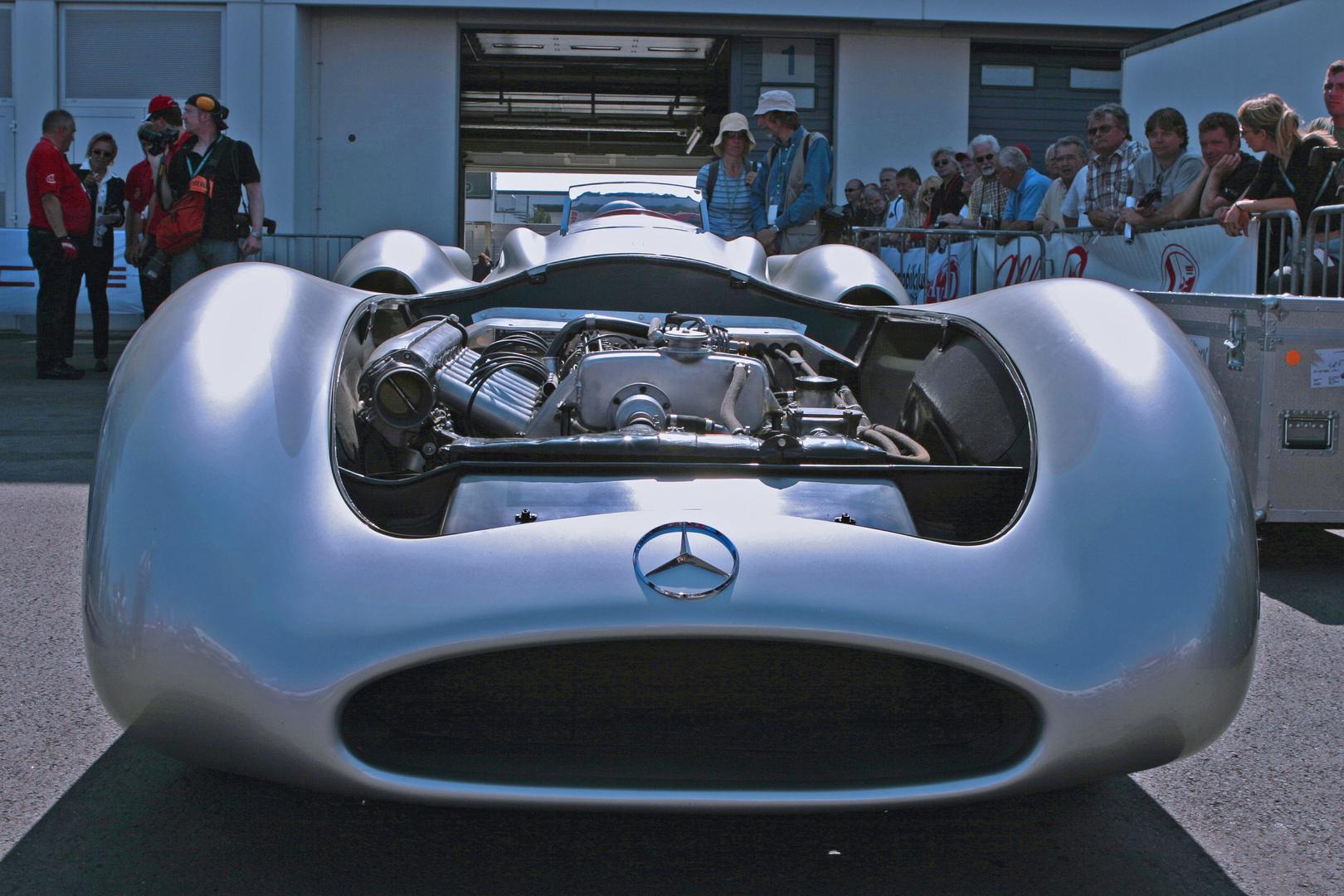 """Mercedes W 196 ohne elektronische """"Helferlein"""""""