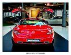 Mercedes-Welt am Salzufer in Berlin - SLS AMG