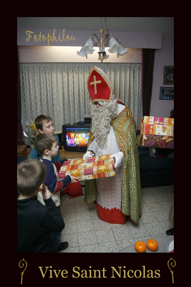 Merci Grand Saint Nicolas !!!!