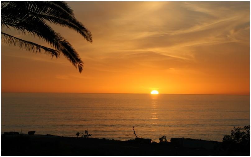 Merci notre Soleil pour cette longue journée...à demain!!!