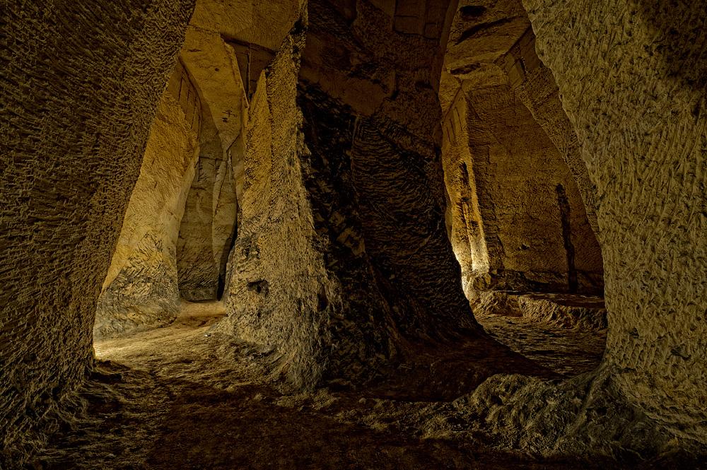Mergelgruben - das Labyrinth