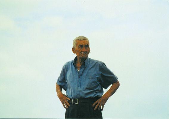 mérida, old man on a hill