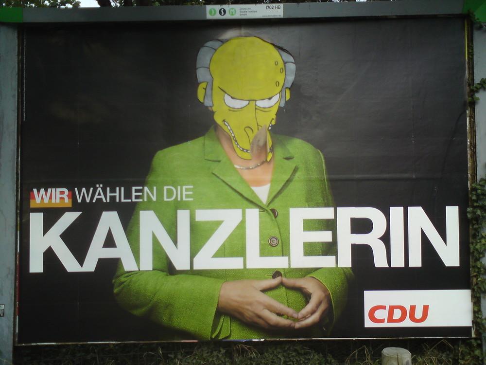 Merkel mal anders