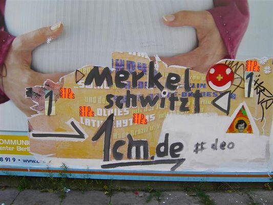 -_- Merkel schwitzt -_-