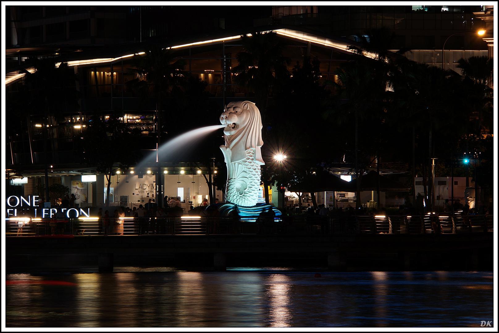 Merlionbrunnen