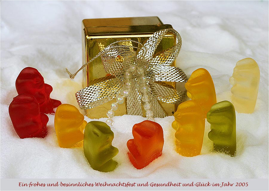 MERRY CHRISTMAS AND A HAPPY NEW YEAR von Gerhard Wo