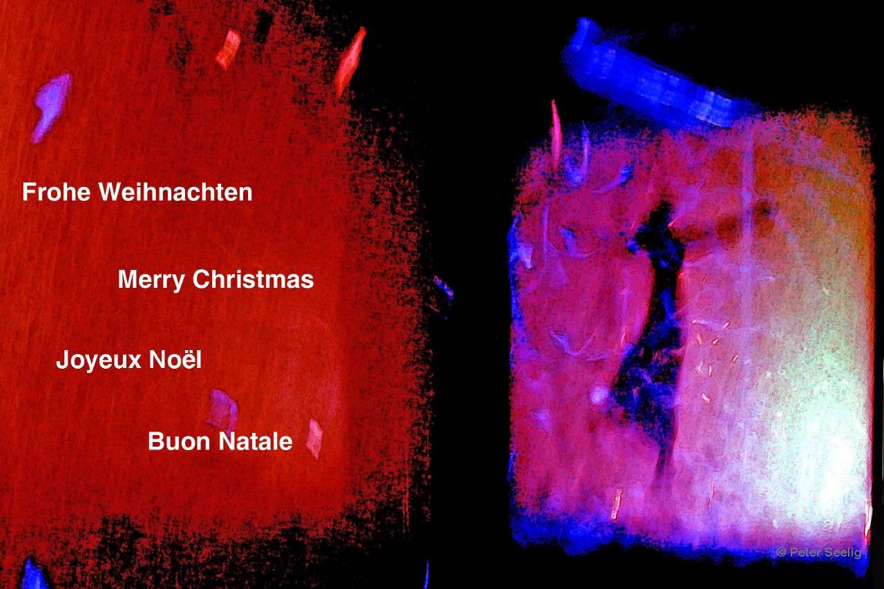 Merry Christmas - Frohe Weihnachten - Joyeux Noël - Buon Natale