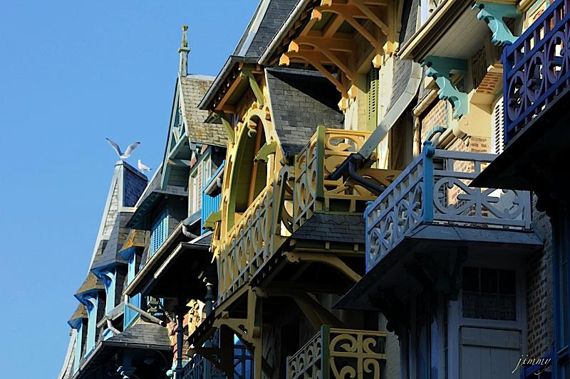 Mers-les-Bains et son architecture typique de la Belle Epoque © Tous droits réservés