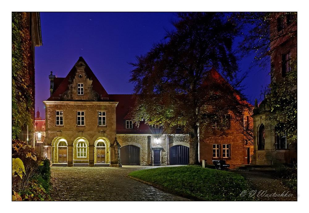 Merseburg Schlossvorhof