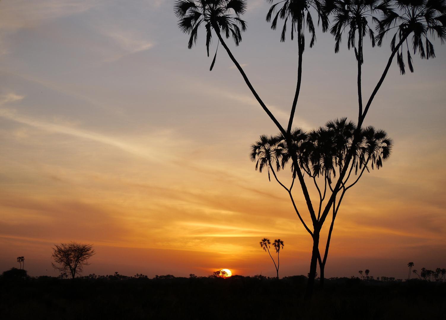 Meru Sonnenuntergang