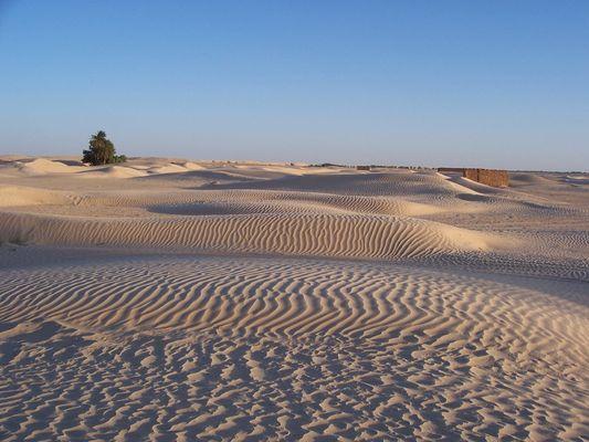 Merveille du monde.....le désert tunisien
