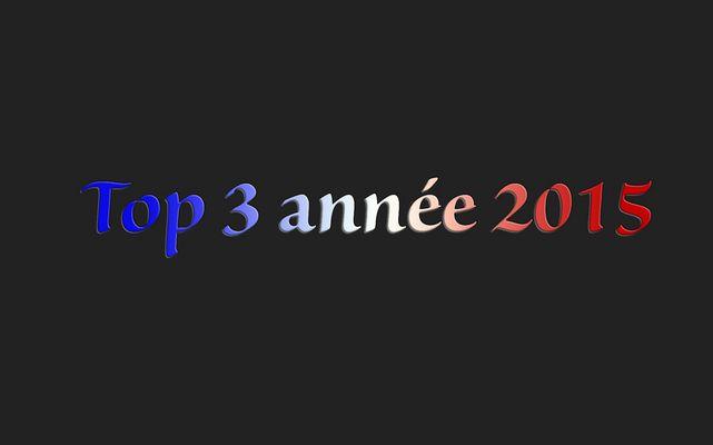 Mes 3 top 2015
