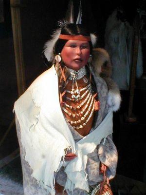 Mescaleros-Indianer bei Ruidoso New Mexico