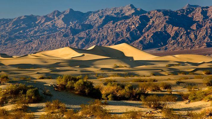 Mesquite Flat Dunes - Death Valley N.P. - Nevada - USA