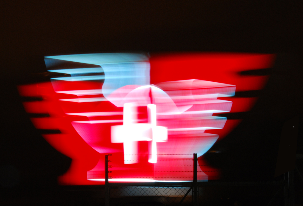 Messe Basel - Schweizer Flagge ...