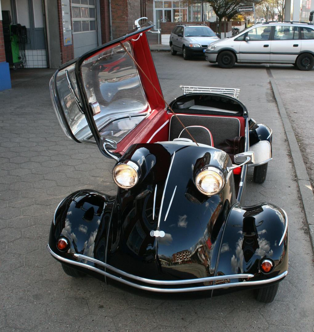 messerschmitt kabinenroller tg 500 offen foto bild autos zweir der oldtimer youngtimer. Black Bedroom Furniture Sets. Home Design Ideas