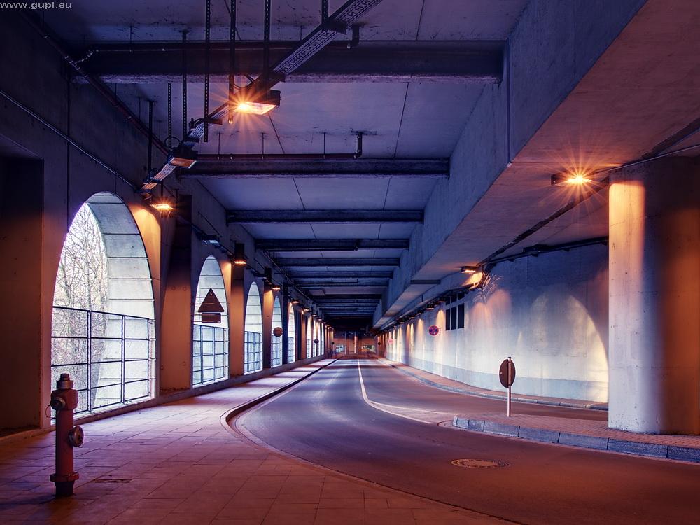 Messetunnel, Essen Lührmannstr.